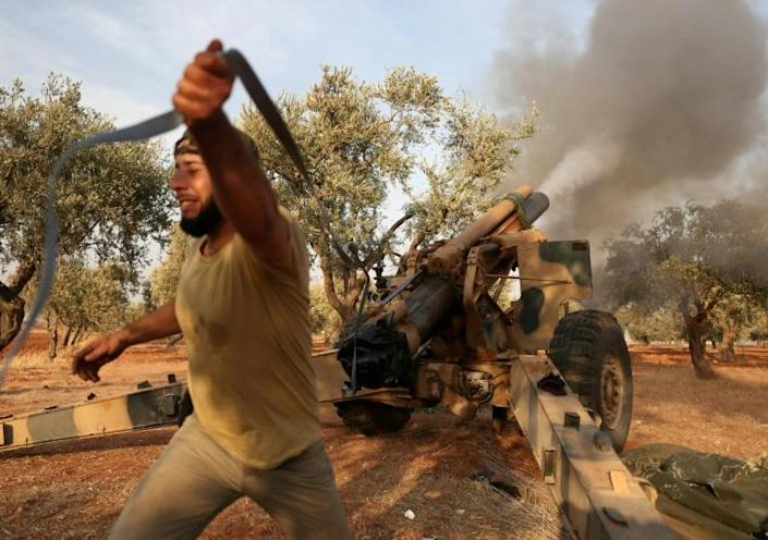 Syria's last major opposition bastion, Idlib, is home to 2.9 million people, of whom two thirds have been displaced from their homes by conflict, the UN says