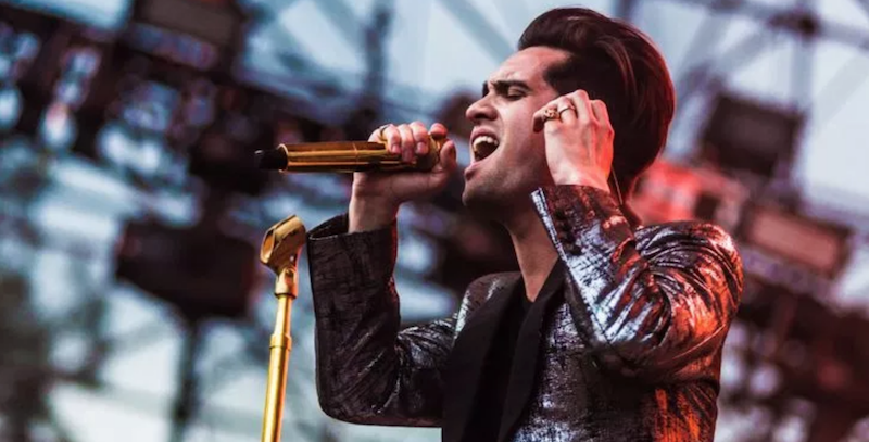 Panic! at the Disco's Brendon Urie debuts fierce heavy metal song: Stream