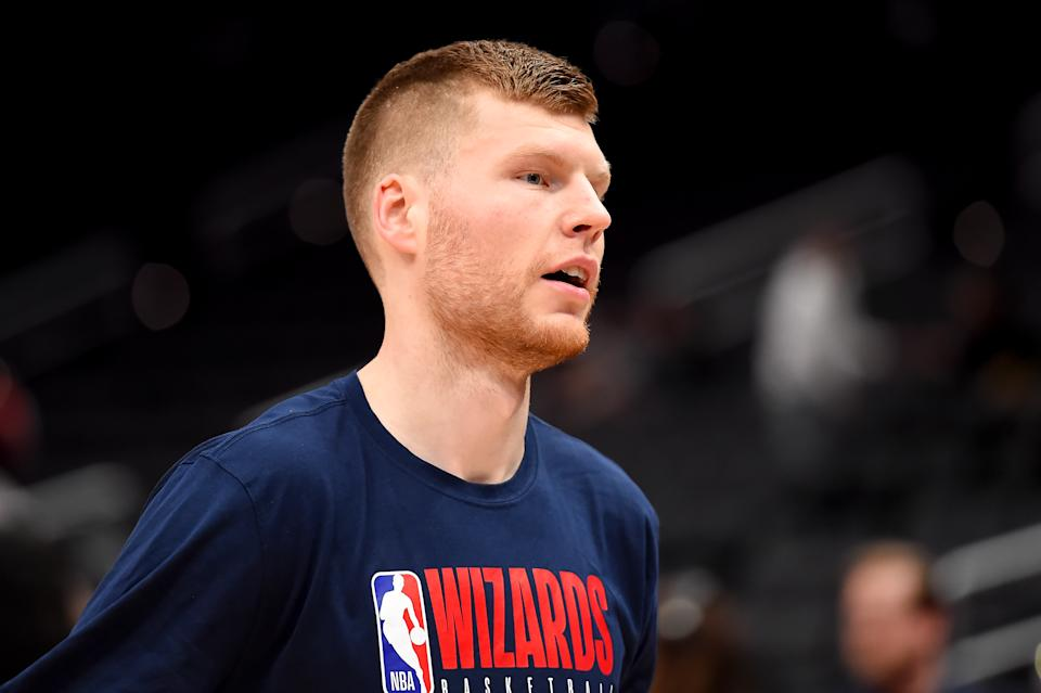 Davis Bertans will reportedly sit out the NBA's 22-team, 8-game restart in Orlando. (Photo by Will Newton/Getty Images)