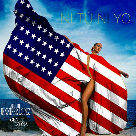 """<p>The mega start celebrated the debut of her new song """"Ni Tu Ni Yo"""" off of her Spanish language album ahead of her performance on the <em>Macy's 4th of July Spectacular</em> that night. """"Happy Independence Day!!! I had to!!! Love these edits!! (Photo: <a rel=""""nofollow noopener"""" href=""""https://www.instagram.com/p/BWJTqpkFziH/?taken-by=jlo&hl=en"""" target=""""_blank"""" data-ylk=""""slk:Jennifer Lopez via Instagram"""" class=""""link rapid-noclick-resp"""">Jennifer Lopez via Instagram</a>) </p>"""