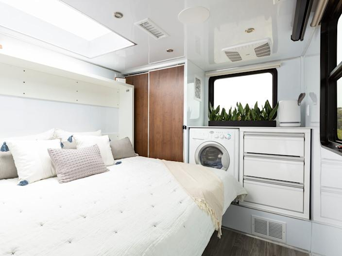 The 2021 Living Vehicle travel trailer