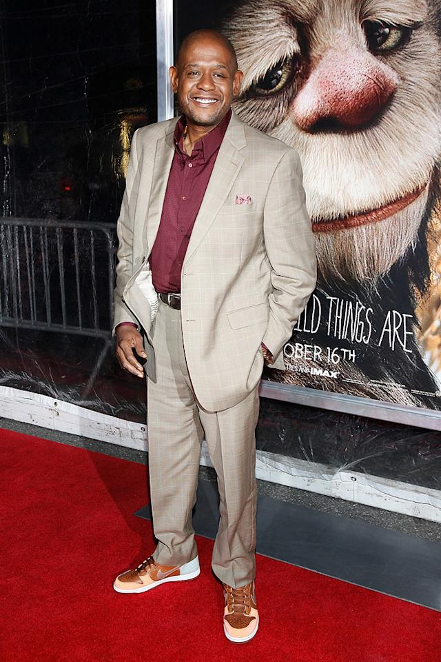 "<a href=""http://movies.yahoo.com/movie/contributor/1800022007"">Forest Whitaker</a> at the New York City premiere of <a href=""http://movies.yahoo.com/movie/1808412037/info"">Where the Wild Things Are</a> - 10/13/2009"