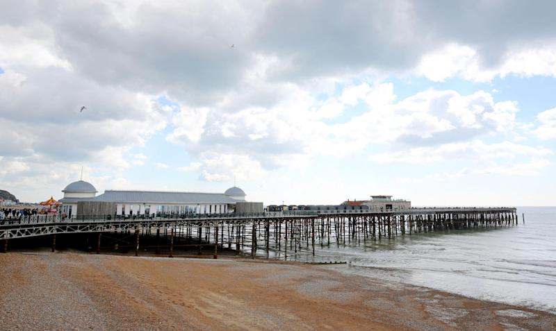 Hastings Pier won't be reopening at the end of March 'as originally planned' (Gareth Fuller/PA)