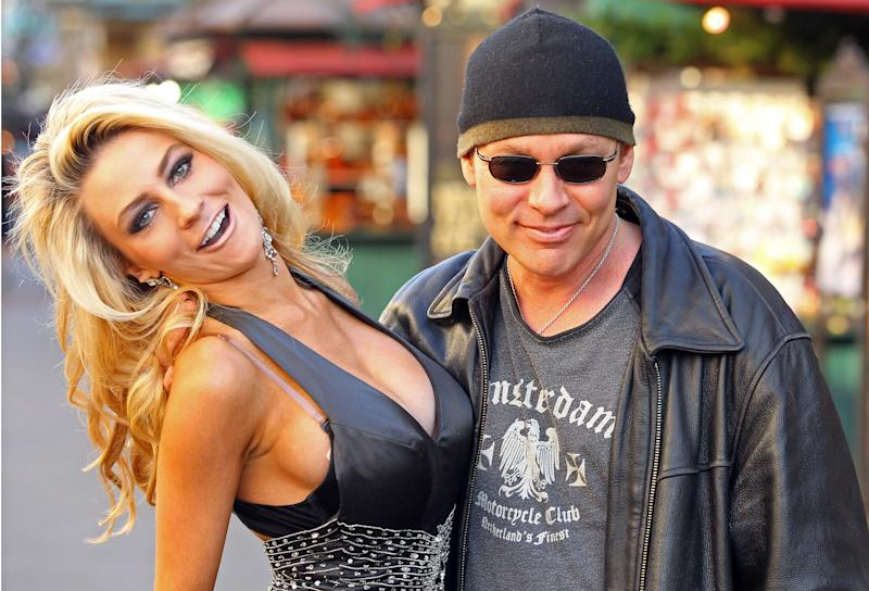 Courtney Stodden with husband Doug Hutchinson in 2011 at 17 years old