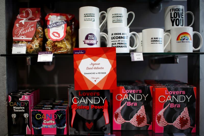 Sex toys sales explode in France as COVID curtails Valentine's celebrations