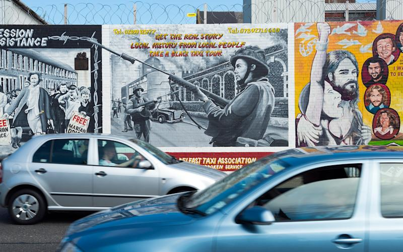 Belfast is renowned for its many political murals - Joel Carillet