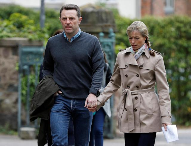 The parents of missing Madeleine McCann, Gerry and Kate McCann (Picture: Reuters)