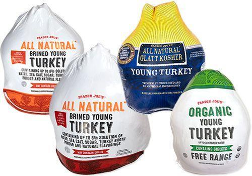 <p>Yes, you can even get a full-size turkey from TJ's. From organic to Kosher options, they have it ALL. </p>