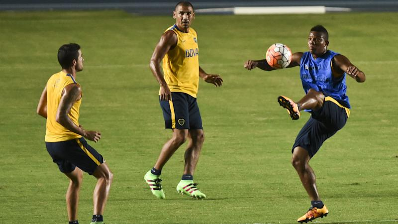 WATCH: Boca players come to blows during training