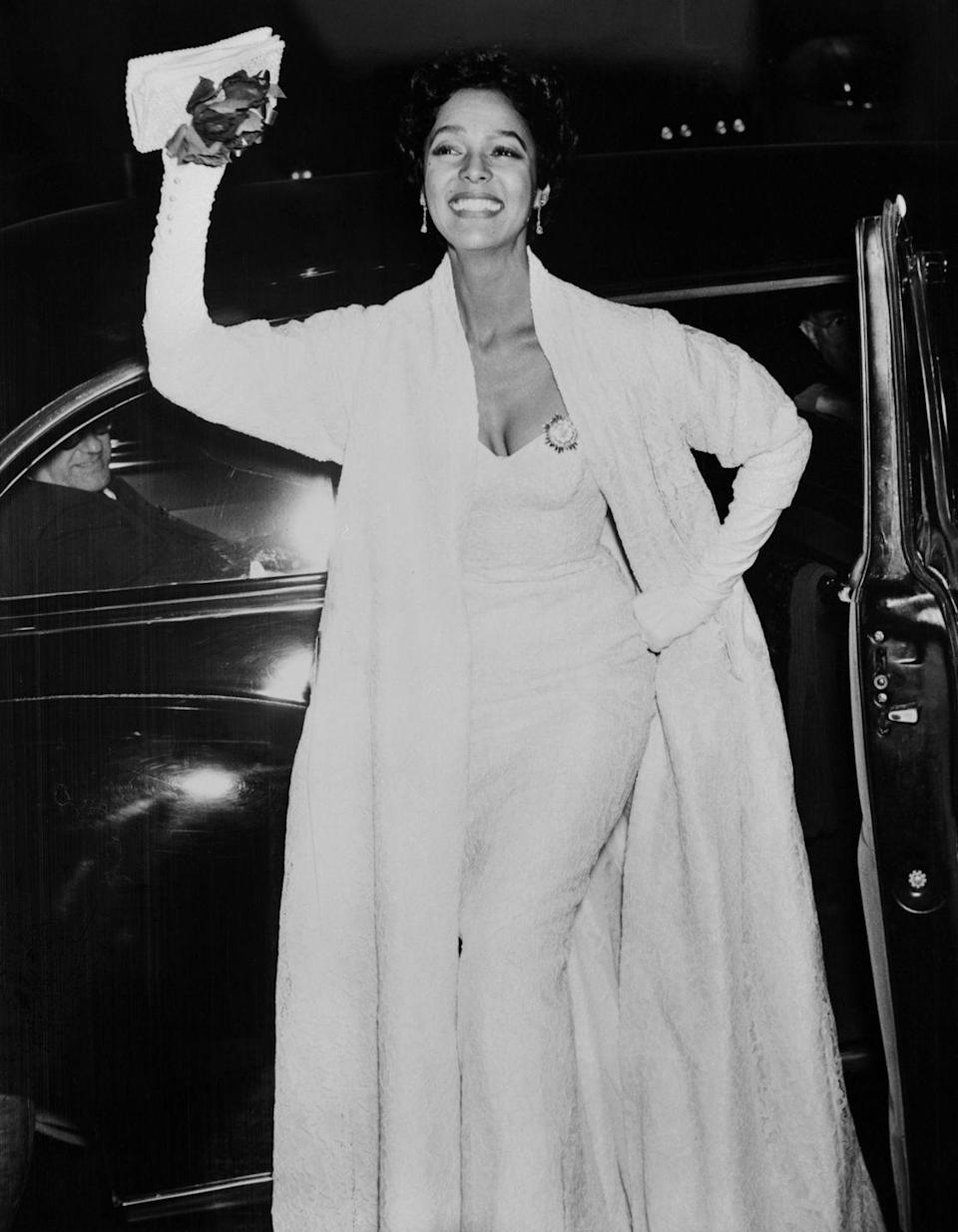 <p>In 1955, Dandridge became the first Black woman to be nominated for Best Actress at the Academy Awards. She was nominated for her role in<em> Carmen Jones</em>. She lost to Grace Kelly for <em>The</em> <em>Country Girl. </em></p>