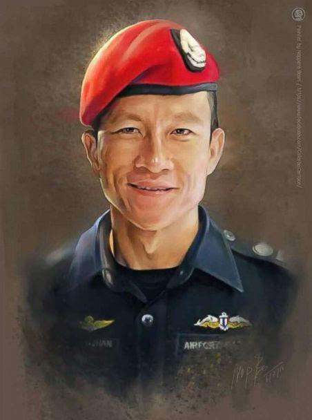 PHOTO: The Royal Thai Navy released this image of a former member who died while working as a volunteer rescuer in the operation to save the boys soccer team trapped inside a cave in Chiang Rai province, Thailand, July 6, 2018. (Noppara Bosri via Royal Thai Navy SEAL)