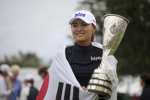 Jin Young Ko wins Evian Championship after Hyo Joo Kim implodes