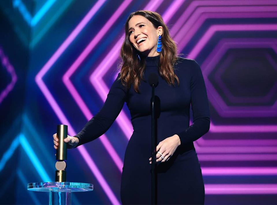 Mandy Moore, 2020 Peoples Choice Awards, PCAs, Candids