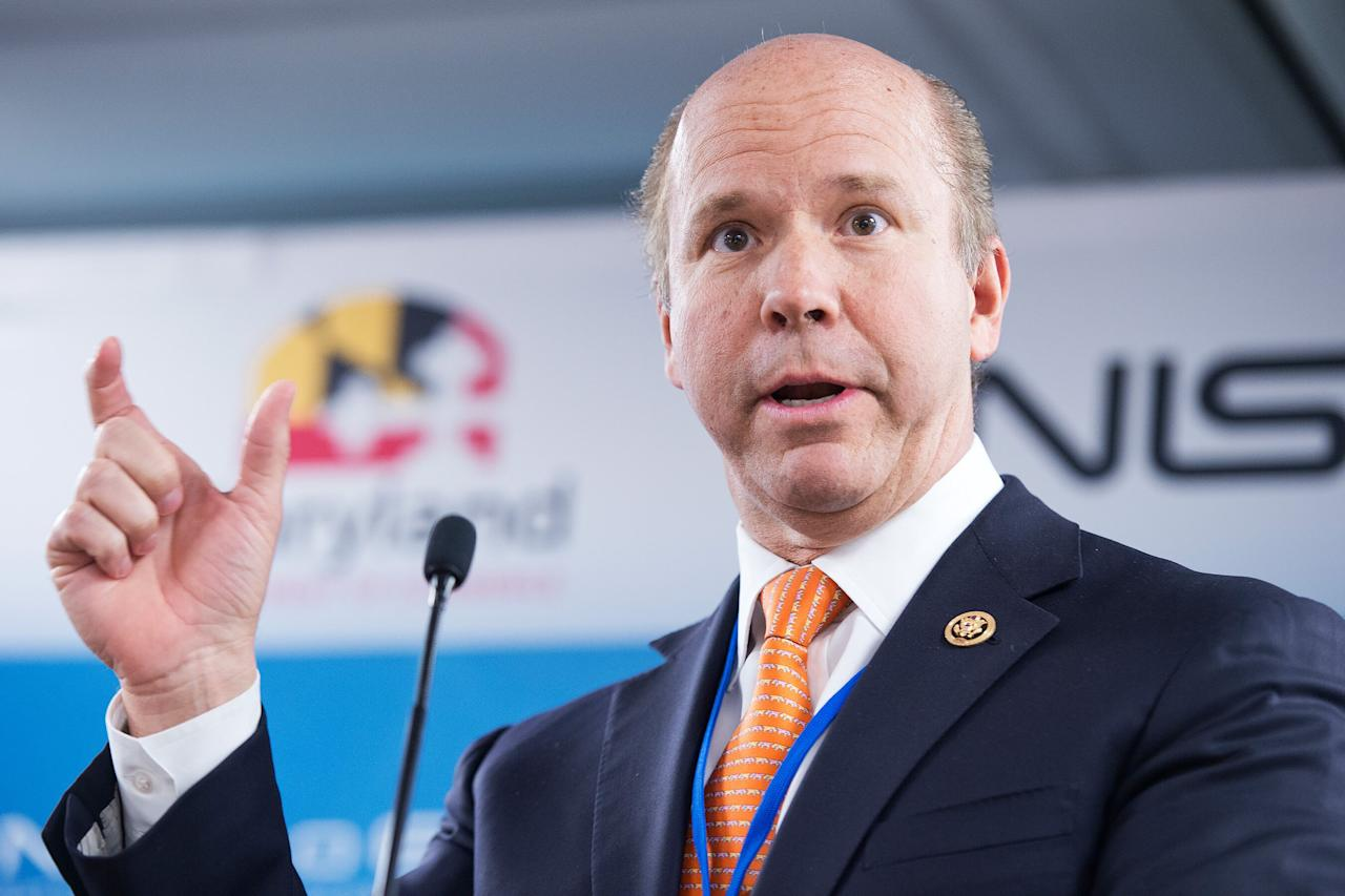 """<a href=""""https://www.rollcall.com/video/john_delaney_is_running_for_president_here_are_some_congressional_basics"""" target=""""_blank"""">Delaney</a>, a 55-year-old businessman and former Maryland Congressional representative, has been running for president almost as long as President <a href=""""https://people.com/tag/donald-trump"""" target=""""_blank"""">Donald Trump</a> has been in office: He announced his campaign in July 2017, <a href=""""https://www.wbur.org/hereandnow/2019/02/08/john-delaney-2020-presidential-election"""" target=""""_blank"""">according to Bostion radio station WBUR</a>.  Hillary Clinton's surprising loss """"made me say, 'We have to think differently about everything,' """" Delaney, a Democrat who left office earlier this year, told WBUR. """"We really need to move to a bit of a post-partisan world where we actually start solving problems.""""  <strong>RELATED: <a href=""""https://people.com/politics/2020-presidential-candidates-who-have-dropped-out/"""" target=""""_blank"""">Who Has Dropped Out of the 2020 Presidential Race</a></strong>  In his WBUR interview, Delaney outlined more moderate positions than many of his Democratic colleagues. For example, he said he supports """"a system of universal health care where every American has health care as a fundamental right"""" but does not believed in a government-backed """"Medicare-for-all."""" He also said he believes in a compromise on border security that includes some physical barriers between the U.S. and Mexico."""