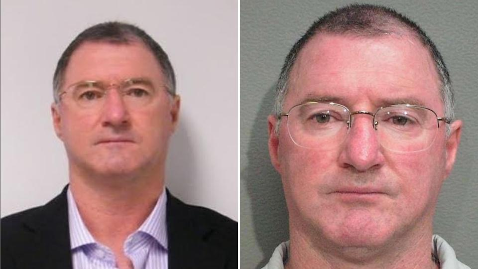 Two images of 61-year-old Graham Gene Potter.