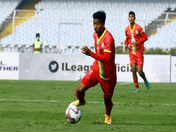 TRAU forward Bidyashagar Singh (Photo/ I-League)