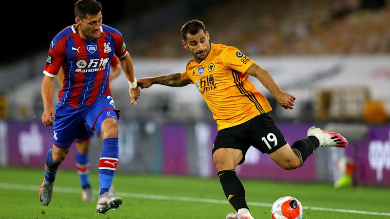 Jonny, we're sorry… Wolves wing-back suffers serious knee injury