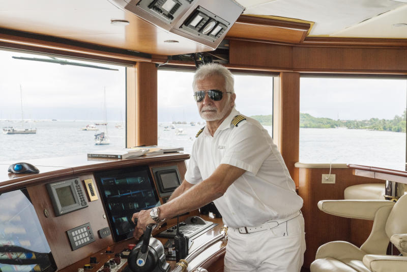 BELOW DECK -- Pictured: Captain Lee Rosbach -- (Photo by: Greg Endries/Bravo/NBCU Photo Bank/NBCUniversal via Getty Images)