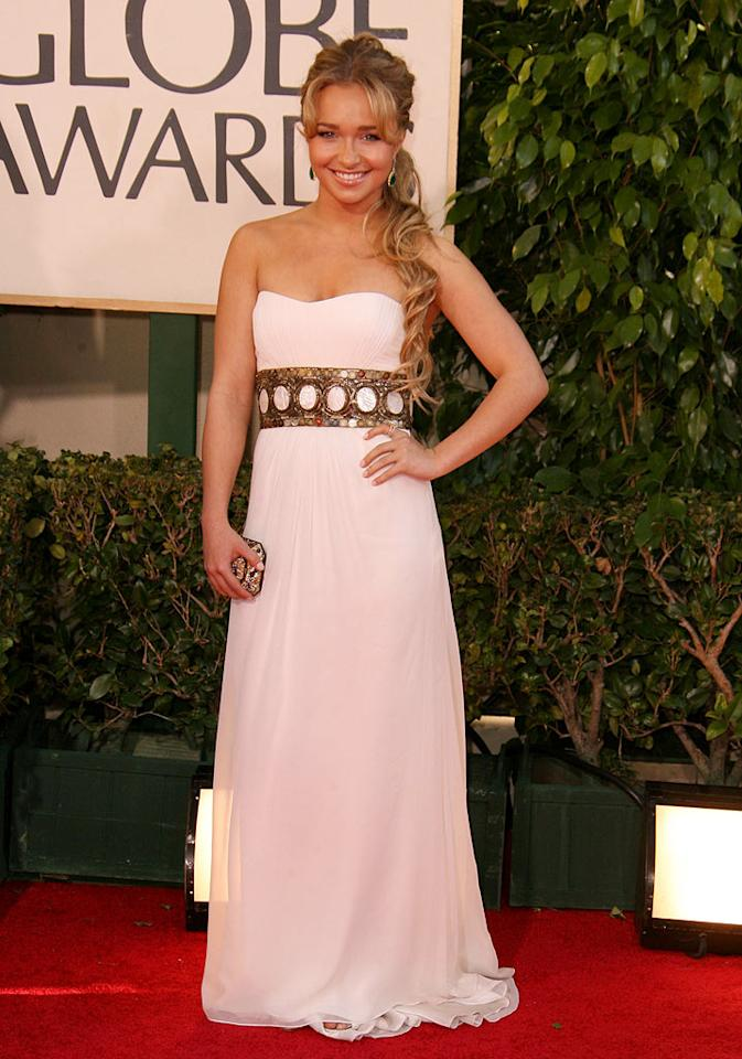 """<a href=""""/hayden-panettiere/contributor/31555"""">Hayden Panettiere</a> at <a href=""""/the-64th-annual-golden-globe-awards/show/40075"""">the 64th annual Golden Globe Awards</a>."""