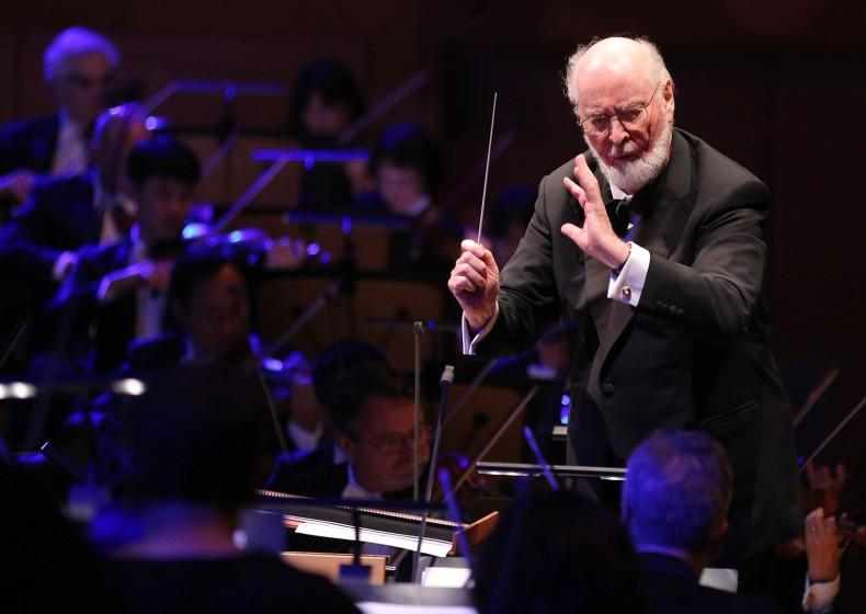 GREAT PERFORMANCES Dudamel Conducts a John Williams Celebration With the LA Phil (Airdate: 7/24/2015) Pictured: John Williams