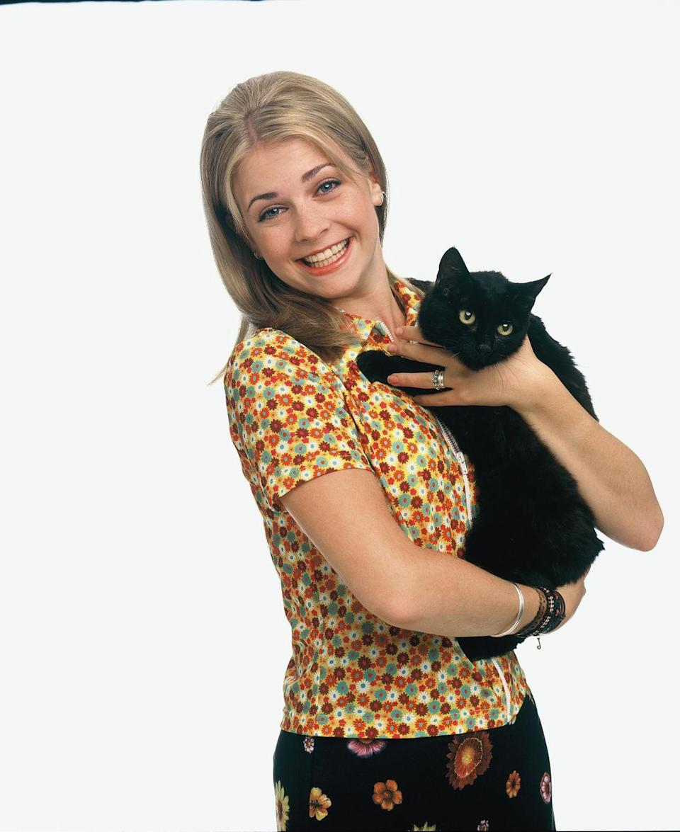 <p>In the '90s, Melissa played everyone's favorite know-it-all sorcerer on <em>Sabrina, the Teenage Witch</em>.</p>