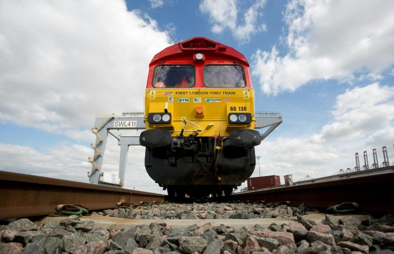 The first freight train to link China directly to the UK arrived in the Chinese city of Yiwu after covering over 12,000-kms (7,500 miles), making it the second-longest route in the world