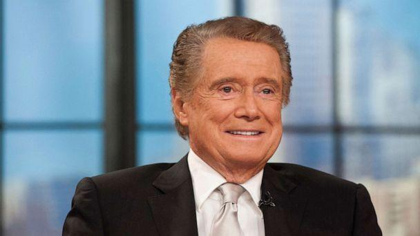 PHOTO: Regis Philbin on his farewell show of 'Live! with Regis and Kelly' in New York City, Nov. 18, 2011. (Charles Sykes/AP)