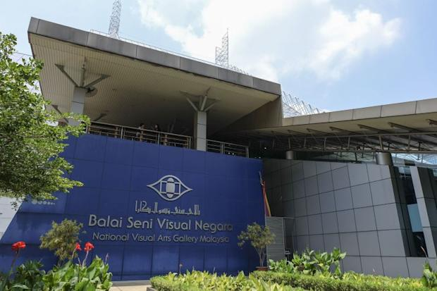 The National Visual Arts Gallery in Kuala Lumpur. ― Picture by Yusof Mat Isa