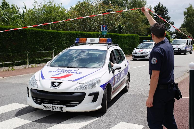 The assault in the Paris suburb of Magnanville was the first deadly strike in France since the attacks in the capital by an Islamic State cell in November (AFP Photo/Matthieu Alexandre)