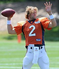 Surprisingly, free agent rookie Adam Weber is drawing better reviews from some than Tim Tebow