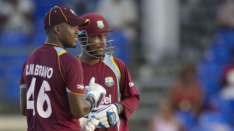 Darren Bravo and Dinesh Ramdin