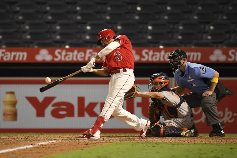 MLB roundup: Trout blasts club-record 300th HR in Angels win