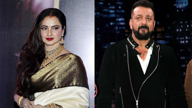 No, Rekha Is NOT Married to Sanjay Dutt