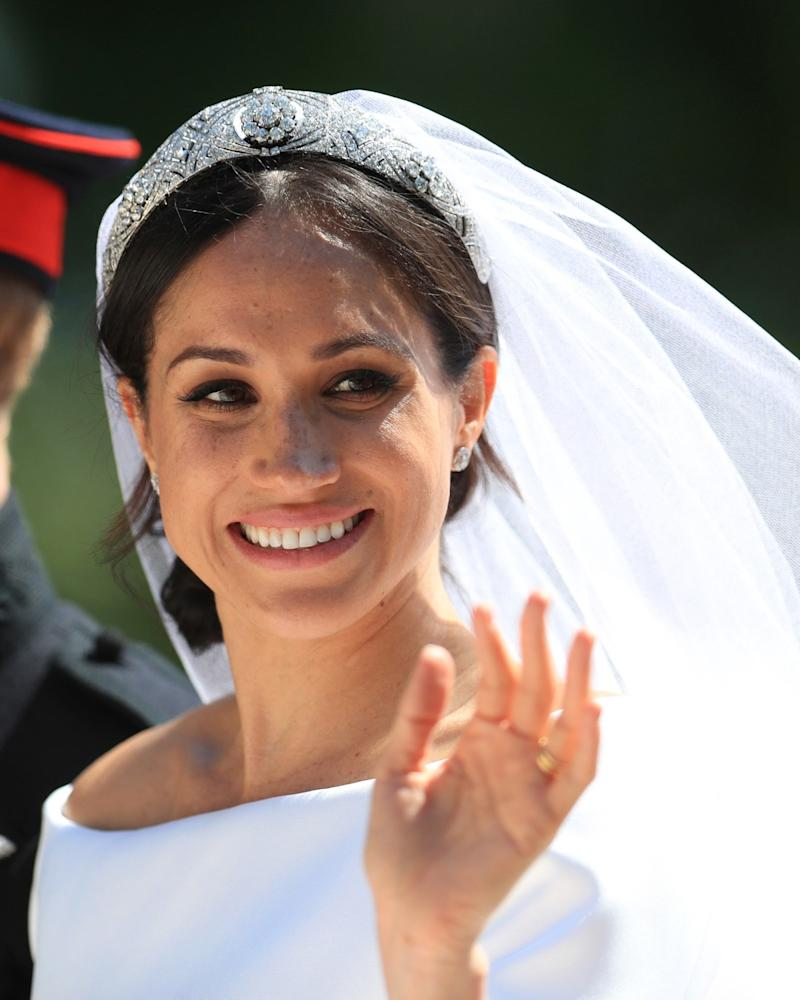 See the Gold Bracelet Meghan Markle Gave Out as Royal Wedding Favors