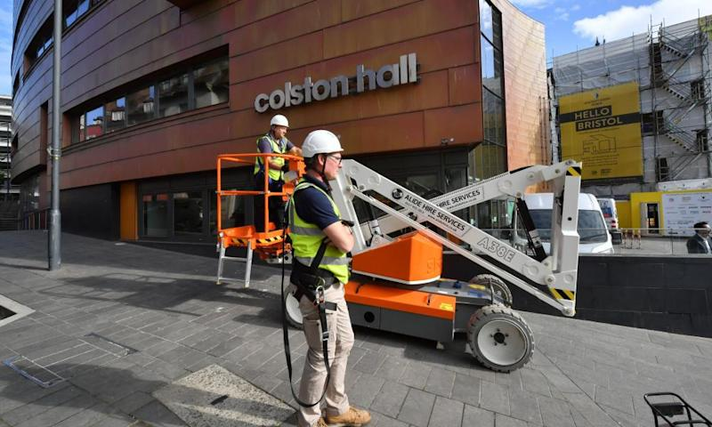 Bristol's Colston Hall renamed in wake of Black Lives Matter protests