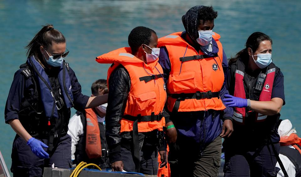 Migrant Channel crossing incidents (PA Wire)