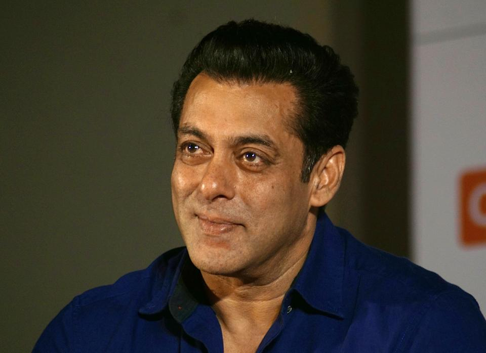 MUMBAI, INDIA - August 9 : indian actor  Salman Khan attends the  speacial screening of  25th year of film