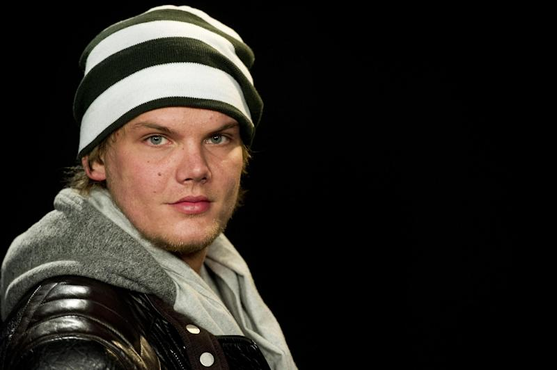 FILE - This Jan. 23, 2012 file photo shows Swedish DJ Tim Bergling, known as Avicii, posing for a portrait in New York. Lollapalooza, starting Friday, Aug. 3, 2012, on Chicago's lakefront will have well-known headliners, like The Red Hot Chili Peppers and The Black Keys, but it also will have a special focus on dance music. Two electronic heavyweights, Avicii and Justice, will play main stage show this year. Festival founder and Jane's Addiction lead singer Perry Farrell said he looks at his more than 130-artist lineup as a guide to what's happening in music. (AP Photo/Charles Sykes, file)