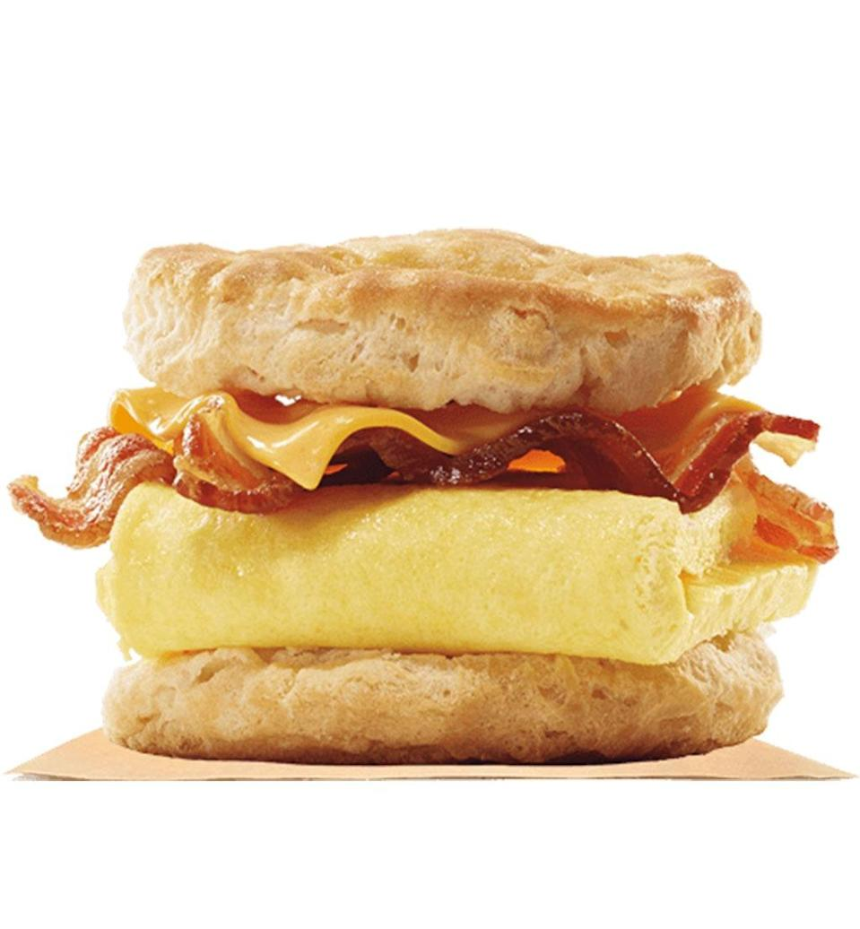 burger king bacon egg and cheese biscuit