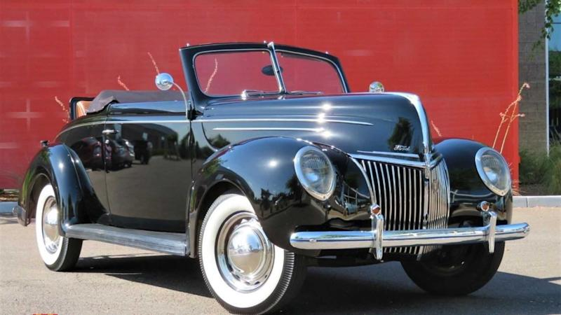 1939 Ford Deluxe From Arizona Is Untouched And Unequaled