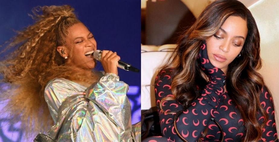 """Beyoncé's colorist Neal Farinah showed off the singer's dramatically darker look on <a href=""""https://www.instagram.com/p/BxWJRmxnIoE/"""" rel=""""nofollow noopener"""" target=""""_blank"""" data-ylk=""""slk:Instagram"""" class=""""link rapid-noclick-resp"""">Instagram</a> in May 2019, calling the combination of her rich brunette hue and highlights """"SUMMER COLOR TRENDS."""" (Rightfully so.)"""