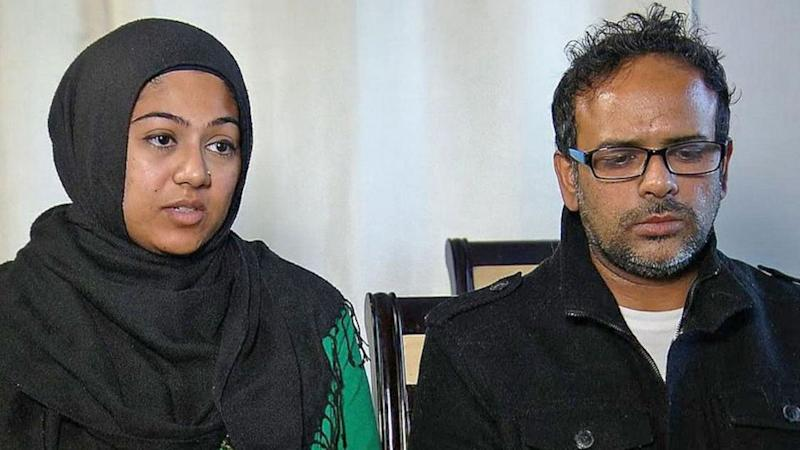 Saira Khan and her husband are seeking custody of her brother's child. Photo: ABC News