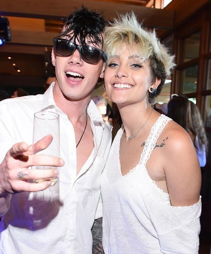 Paris Jackson and Michael Snoddy. Source: Getty Images.
