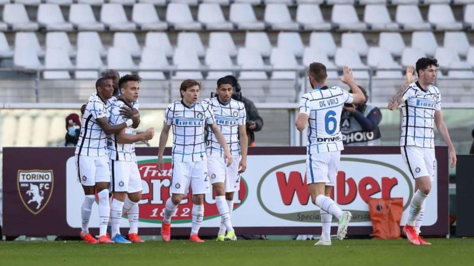 L'esultanza dell'Inter a Torino | Jonathan Moscrop/Getty Images
