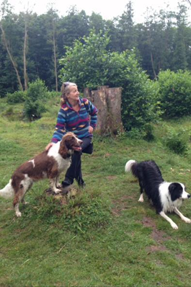 Lucy Bonnett: The dog walker says professionals are under threat (Lucy Bonnett)