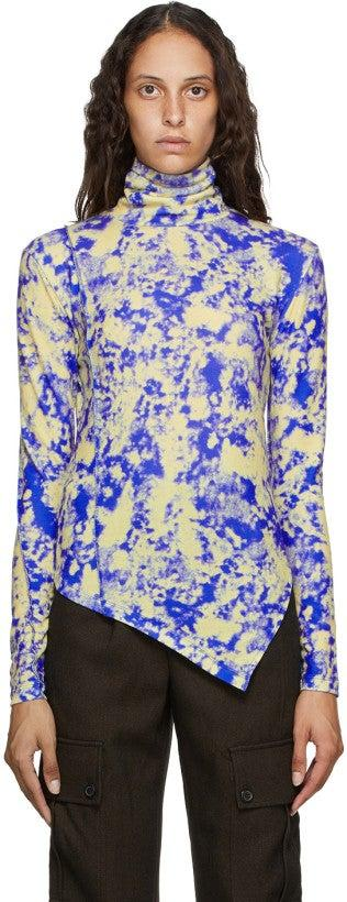 """<br><br><strong>Andersson Bell</strong> Blue & Yellow Tie-Dye Turtleneck, $, available at <a href=""""https://go.skimresources.com/?id=30283X879131&url=https%3A%2F%2Fwww.ssense.com%2Fen-us%2Fwomen%2Fproduct%2Fandersson-bell%2Fblue-and-yellow-tie-dye-turtleneck%2F5774221"""" rel=""""nofollow noopener"""" target=""""_blank"""" data-ylk=""""slk:SSENSE"""" class=""""link rapid-noclick-resp"""">SSENSE</a>"""