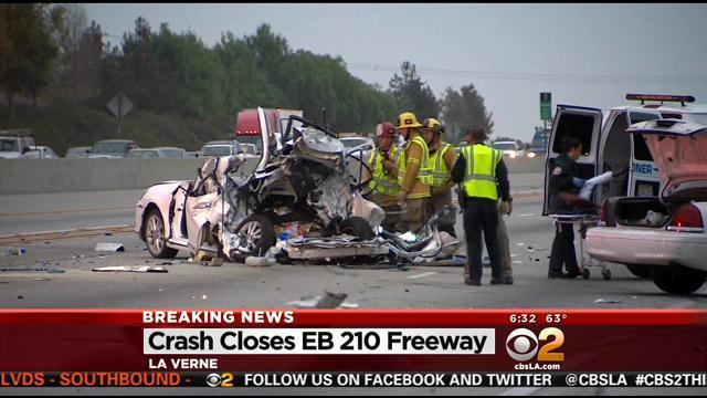 SigAlert Issued For Deadly Accident On 210 Freeway In La