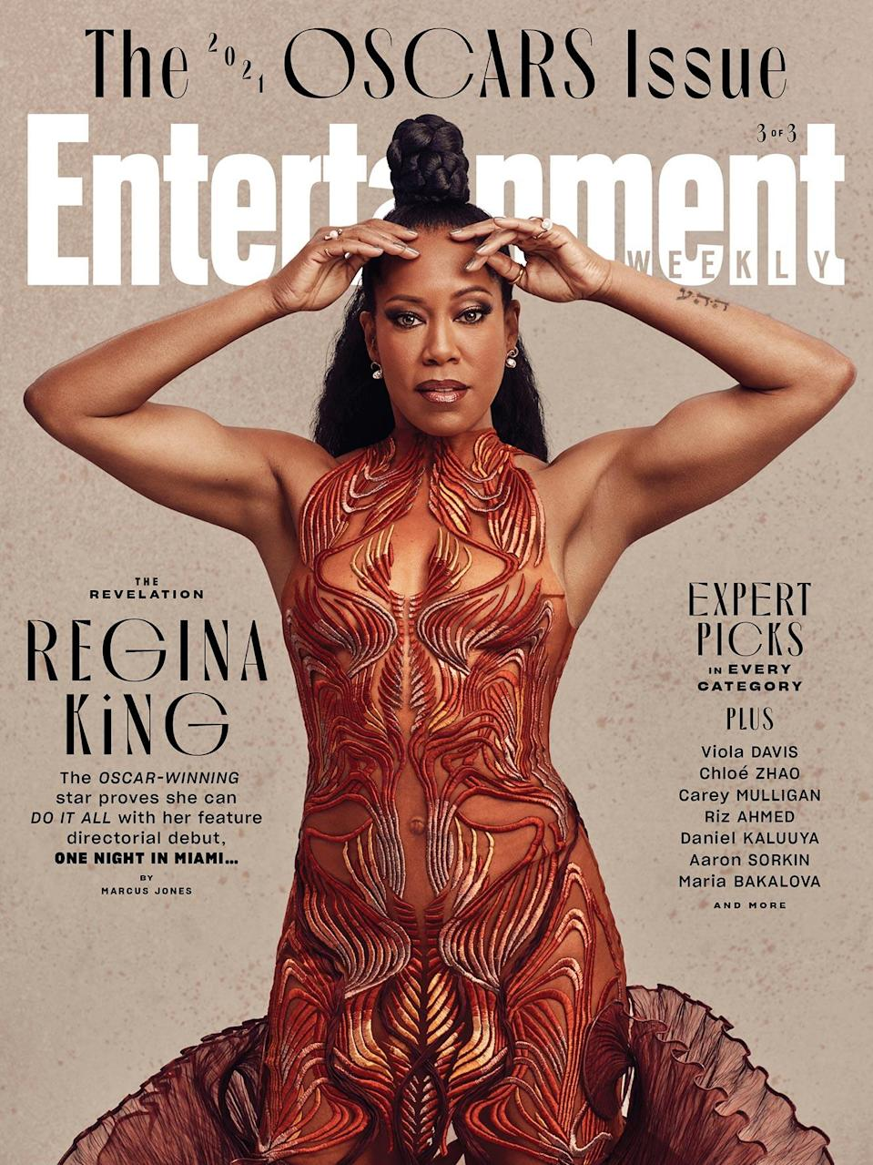 "<p><em><strong>For more on the 2021 Oscars race, order the May issue of </strong></em><strong>Entertainment Weekly <em>— with covers featuring <a href=""https://www.magazine.store/entertainment-weekly/2021/2021-oscars-chole-zhao/"" rel=""nofollow noopener"" target=""_blank"" data-ylk=""slk:Chloé Zhao"" class=""link rapid-noclick-resp"">Chloé Zhao</a>, <a href=""https://www.magazine.store/entertainment-weekly/2021/2021-oscars-viola-davis/"" rel=""nofollow noopener"" target=""_blank"" data-ylk=""slk:Viola Davis"" class=""link rapid-noclick-resp"">Viola Davis</a>, and <a href=""https://www.magazine.store/entertainment-weekly/2021/2021-oscars-regina-king/"" rel=""nofollow noopener"" target=""_blank"" data-ylk=""slk:Regina King"" class=""link rapid-noclick-resp"">Regina King</a> — or</em></strong><em><strong> find it on newsstands beginning April 16, and keep up with EW's <a href=""https://ew.com/tag/awardist/"" rel=""nofollow noopener"" target=""_blank"" data-ylk=""slk:Awardist"" class=""link rapid-noclick-resp"">Awardist</a> online. Don't forget to <a href=""https://www.magazine.store/entertainment-weekly/"" rel=""nofollow noopener"" target=""_blank"" data-ylk=""slk:subscribe"" class=""link rapid-noclick-resp"">subscribe</a> for more exclusive interviews and photos, only in EW. </strong></em></p>"