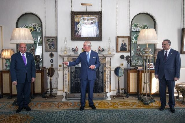 Charles welcomes Iraqi prime minister to Clarence House A05f5ce1cb76f3fce0faf79753ee5993