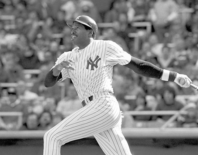 Dave Winfield chose between three sports, and chose wisely. (AP)